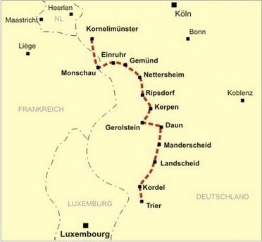 Eifel Karte Pdf.Der Eifelsteig Hotel Seemöwe